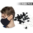 100pcs Silicone Cord Locks Toggles For Mask Stopper Adjustable Buckle Elastic Us