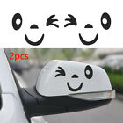 Guitar Decals Car Stickers Side Mirror Rearview 3d Smile Face  Luggage Sticker