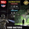 Navy Dedicated High Lumens Flashlight 250000cd 1000m Waterproof And Rechargeable