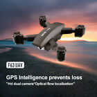 F63 GPS Drone With Wifi FPV 1080P/4K HD Camera Quadcopter Foldable Drone VsSG906
