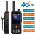 """Android 2.4"""" 4G LTE Smart Walkie Talkie Two Way Radio Mobile Phone Smartphone"""