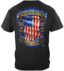 American Flag T Shirt I Stand For The Flag I Kneel To Pray Patriotic Tee S - 5XL