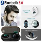 Bluetooth V5.0+EDR True Wireless Stereo Sport In-Ear Earbuds Headphones Earphone