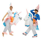 Unicorn-inflatable costumes suit fantasy outdoor activity Halloween Family party
