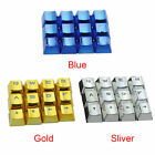 12pcs Mechanical Keyboard Game Gold Plated Usb Removal Universal Keycap