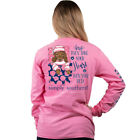 Simply Southern Take Your Heart Then Your Bed Adult Long Sleeve T-Shirt