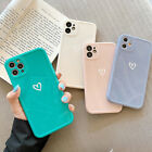 Внешний вид - For iPhone 12 11 Pro Max XS XR 7 8 Plus Cute Love Heart Silicone Soft Case Cover