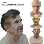 Elder Old Man Headgear Mask Masquerade Halloween Party Cosplay Custom Prop Decor