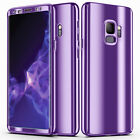 For Samsung Galaxy S20 S10 S9 S8 S7 Note 9 8 Rugged Full Cover Mirror Phone Case