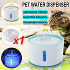 Cat Drinking Water Fountain Pet Dog Electric Automatic Bowl Filter 2.4L Supplier