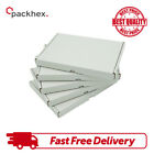 CARDBOARD BOXES C6 SHIPPING POSTAL ROYAL MAIL LARGE LETTER DIE CUT WHITE