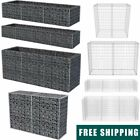 Gabion Stone Basket Retaining Wall Garden Wire Cage Privacy Fench Multi Sizes✓