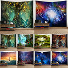 Large Wall Hanging Landscape Fantasy Throw Tapestry Blanket Home Decor Bedspread