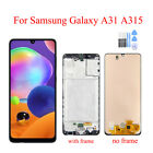 LCD Display Touch Screen Digitizer Replacement Frame For Samsung Galaxy A31 A315