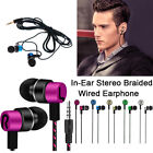 3.5mm In-Ear Stereo Earbuds Earphone For Cell Phone Stereo Earbuds Sport Bass