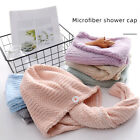 Quick Water Absorbing Hair Drying Towel Shower Towel Dry Hair Turban Bath Towel