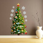 Home Wall Decor Christmas Tree Wall Sticker Vinyl Home Decoration Accessories