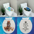 Removable Toilet Seat Wc Bathroom Art Vinyl Home Decals Decor Wall Sticker Diy