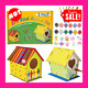 DIY Bird House Kit for Kids-2 Pack Big Size Build and Paint Birdhouse Crafts for photo