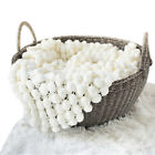 Newborn Baby Photography Wrap Knitted Blanket Rug Photo Props Basket Filler