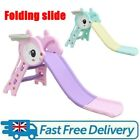 Folding First Climber Slide Sets Kids Outdoor Indoor Toddler Play Fun Toy w/Ball