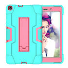 For Samsung Galaxy Tab A 8.0 2019 SM-T290/T295 Hard Rubber Case Stand Shockproof