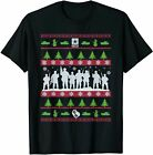 US Army Ugly Christmas Sweater Military T-Shirt T-Shirt Vintage Men Gift Tee