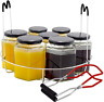 Canning Rack Jar Canner Rack Canning Tongs for Mason Jars (Jars not Included)