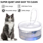 2L Automatic Electric Pet Water Fountain Cat/Dog Drinking Dispenser w/ Filter