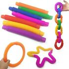 Novelty Place 5Pcs Pull  Tube Sensory Fidget Toy for Kids and Adults Hot