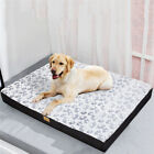 Padded Large Dog Bed Pillow Pet Mattress Soft & Warm Cushion Kennel Mat Washable