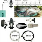 Misting Cooling System Water Pump Set 12V Misting Motor With 9M Garden Equipment