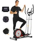 ANCHEER Magnetic Elliptical Machine Cross Trainer with 3D Virtual APP Control;