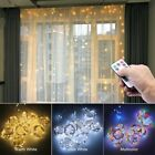 3M LED Curtain Garland on the Window USB String Lights Fairy Festoon Remote