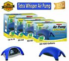 Tetra Whisper Air Pump for Fish Tank Aquarium Filter Non-UL , up to 10-40-60-100