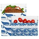 Lunchskins Reusable Sandwich Bag + Snack Bag 2-Pack Bundle - NEW
