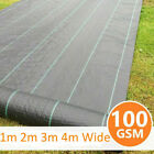 1m 2m 3m 4m Wide Weed Control Fabric Membrane Garden Ground Cover Decking Sheet