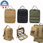 Tactical MOLLE Rip-Away First Aid Kit Medical Empty Bag IFAK Survival EMT Pouch