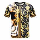 2021 New Versace Men's Round neck Short Sleeve Medusa Cotton T-Shirt M-3XL <br/> 2021 Newest Style! Promoted Price! Return Policy! Bid!
