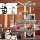 Multilevel Cat Tree Scratching Post Kitten Climbing Tower Activity Centre 149CM