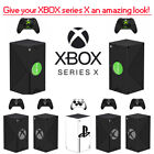 Personality Xbox Series X Sticker Console And 2 Controllers Skin Decal Xmas Gift