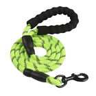 Dog Leash Rope Braided Pet Leads Strong Soft for Medium Large Dog Walk 5 Colours