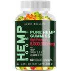 Natural Herbal Pure High potency Gummies 60 ct, Pain, Stress, Immune, Anxiety