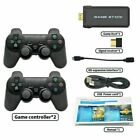 HDMI 4K TV Video Gaming Stick Console W/ 2 Wireless Gamepads 10000+ Retro Games