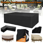 Outdoor Furniture Cover Uv Waterproof Garden Patio Table Chair Shelter Protector