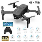 H1 Mini FPV Wifi Drone With HD Camera Aircraft Foldable Quadcopter Selfie Toys