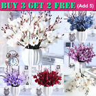 Artificial Magnolia Silk Flower Real Touch Plant Bouquet Party Garden Home Decor