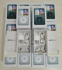 """""""Packaging Box Only"""" For iPod Classic 7th Generation 120/160/256 Black/White New"""