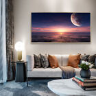 Sunset At Sea Canvas Wall Art Picture Print Living Room Home Decor