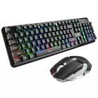 Backlit Keyboard Mouse Combo Rechargeable Waterproof Wireless PC Home For Xinmen